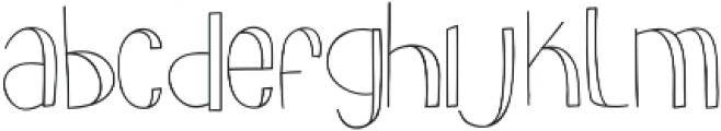 slimkid Light ttf (300) Font LOWERCASE