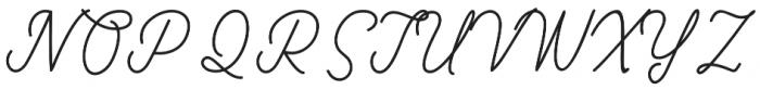 slowly mono otf (400) Font UPPERCASE