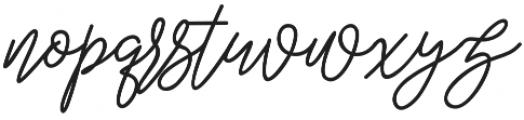 slowly mono otf (400) Font LOWERCASE