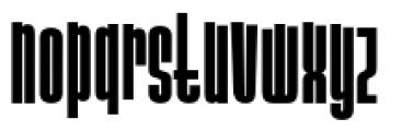 Slack Casual Bold Font LOWERCASE