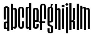 Slack Casual Medium Font LOWERCASE