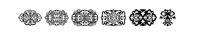 SL Square Ornaments Font OTHER CHARS