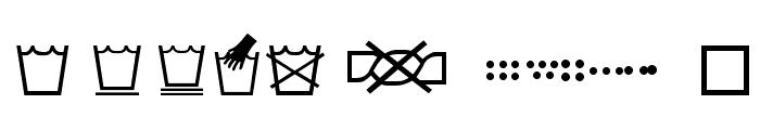 SL Wash Font UPPERCASE
