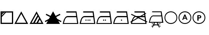 SL Wash Font LOWERCASE