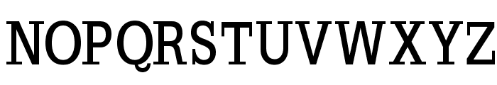SlabRomana-Bold Font UPPERCASE
