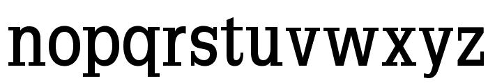 SlabRomana-Bold Font LOWERCASE