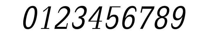 SlabRomana-Oblique Font OTHER CHARS