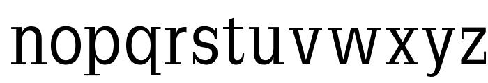 SlabRomana Font LOWERCASE