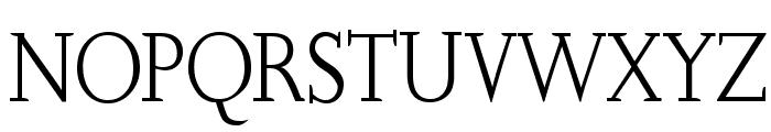 SlabRoundSerif-Light Font UPPERCASE