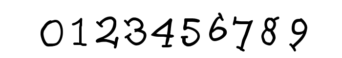 SlabSerifWritten Font OTHER CHARS