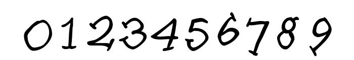SlabSerifWrittenItalic Font OTHER CHARS