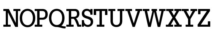 SlabTallX-Medium Font UPPERCASE