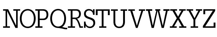 SlabTallX Font UPPERCASE