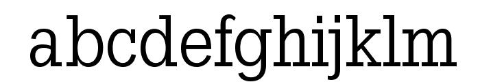 SlabTallX Font LOWERCASE