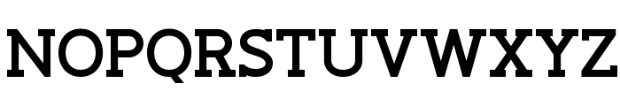 Slaberlin Bold Font UPPERCASE