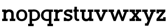 Slaberlin Bold Font LOWERCASE