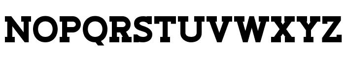 Slaberlin XBold Font UPPERCASE