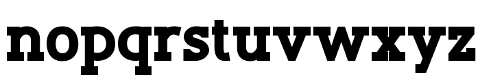 Slaberlin XBold Font LOWERCASE