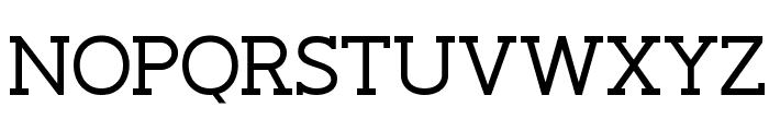 Slaberlin Font UPPERCASE