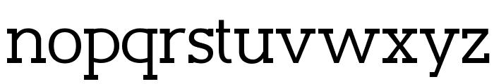 Slaberlin Font LOWERCASE
