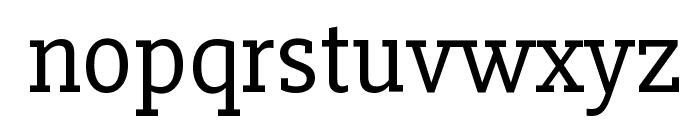 Slabo 27px Font LOWERCASE
