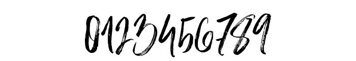 SlaborBrush Font OTHER CHARS