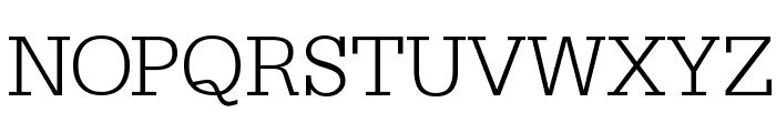 SlabserifXhigh Font UPPERCASE