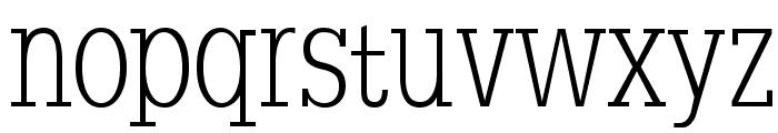 SlabserifXhigh Font LOWERCASE