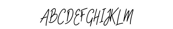 SlainteScriptDemo Font UPPERCASE