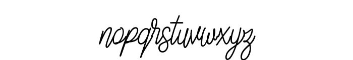 SlainteScriptDemo Font LOWERCASE