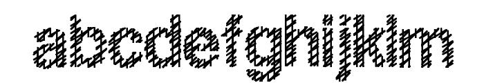 Slang King Bold Font LOWERCASE