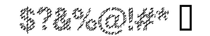 Slang King Font OTHER CHARS