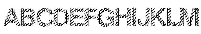 Slang King Font UPPERCASE