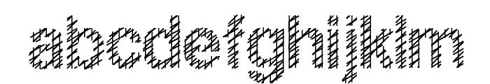 Slang King Font LOWERCASE