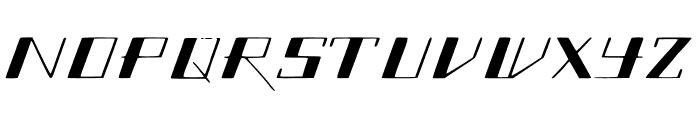 SlantGeo Font UPPERCASE