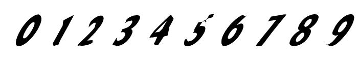 Slantalic Font OTHER CHARS