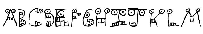 Slapstick Dental Inc. Font UPPERCASE
