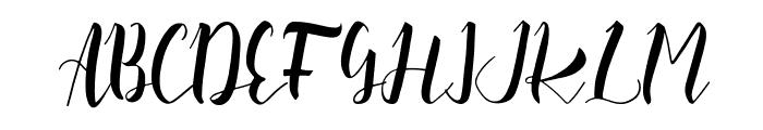 Slash Bold Font UPPERCASE