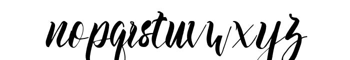 Slash Bold Font LOWERCASE
