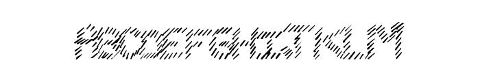 SlashKing Font UPPERCASE