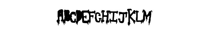 SlashThirty Font LOWERCASE