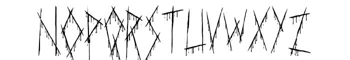 Slasha Font LOWERCASE