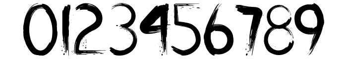 Slasher Font OTHER CHARS