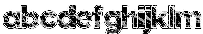Slate Font LOWERCASE