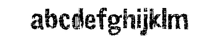 Slawterhouse_Swinggang Font LOWERCASE