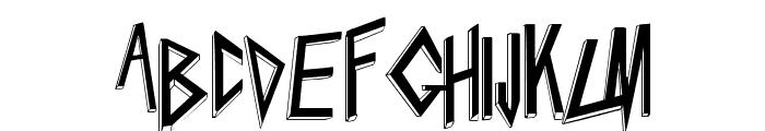 Slaytanic Font LOWERCASE