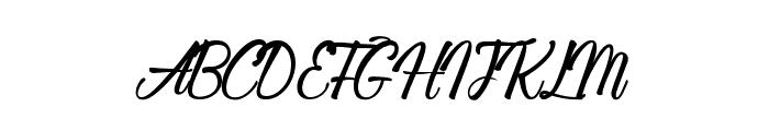 Sleeping in Castleland Font UPPERCASE
