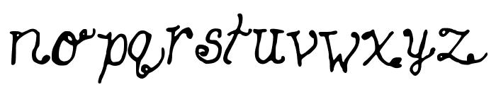 SleepingBeauty Font LOWERCASE
