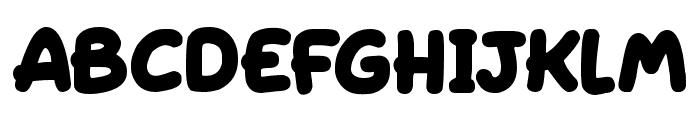 Sleeping Font LOWERCASE