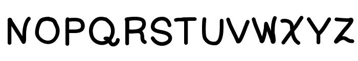 SleeplessCity Font UPPERCASE